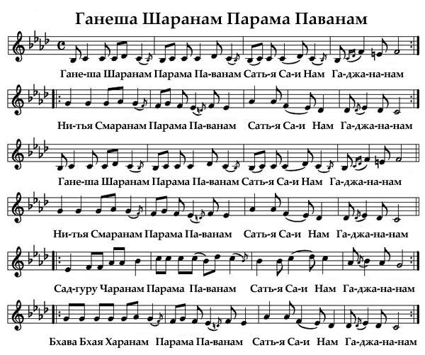 Ганеша Шаранам Парама Паванам